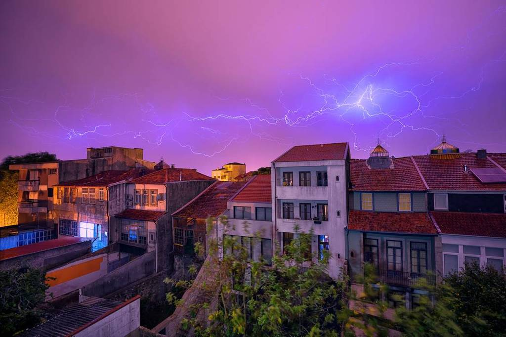 Most recent image: Thunder over Porto