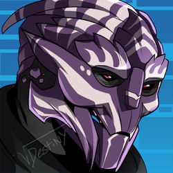 Turian Icon (COMMISSION)