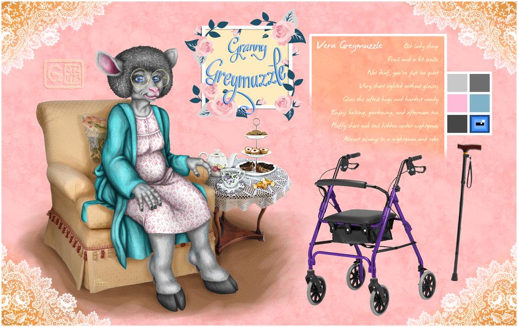 Granny Greymuzzle Ref