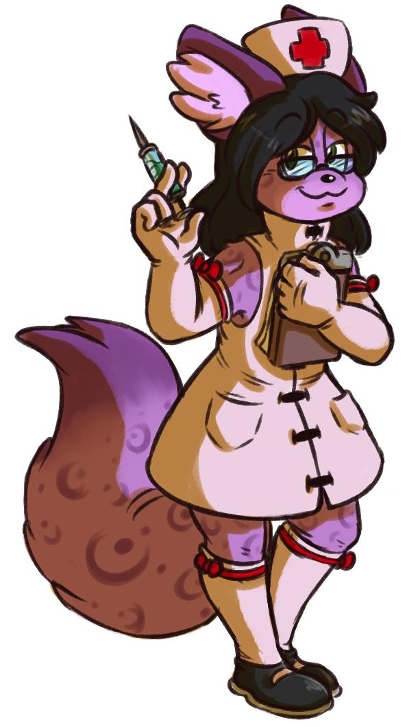 Commission - Nurse Toby