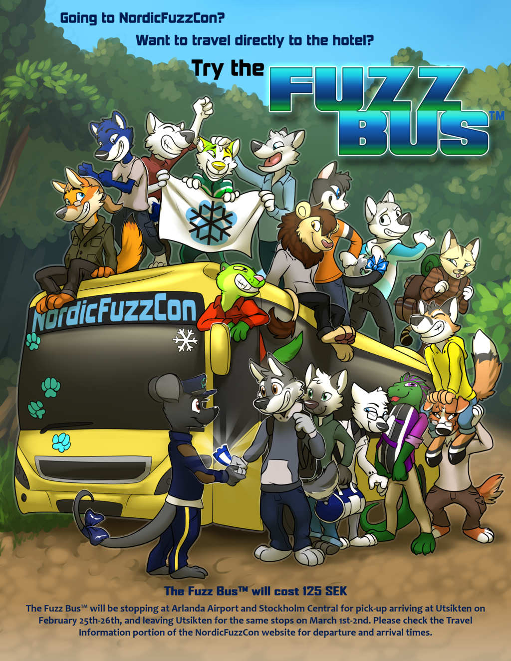 NordicFuzzCon presents: The Fuzz Bus