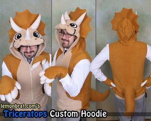 Triceratops Custom Hoodie!
