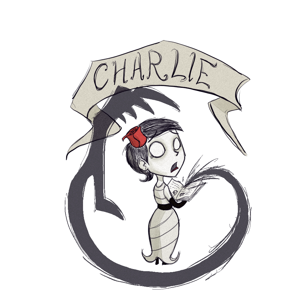 Charlie Portrait Art