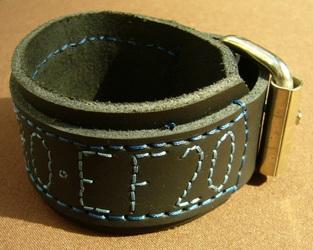2 of 3 bracelets of the EF 20 (Nero Wolfis) 3/3