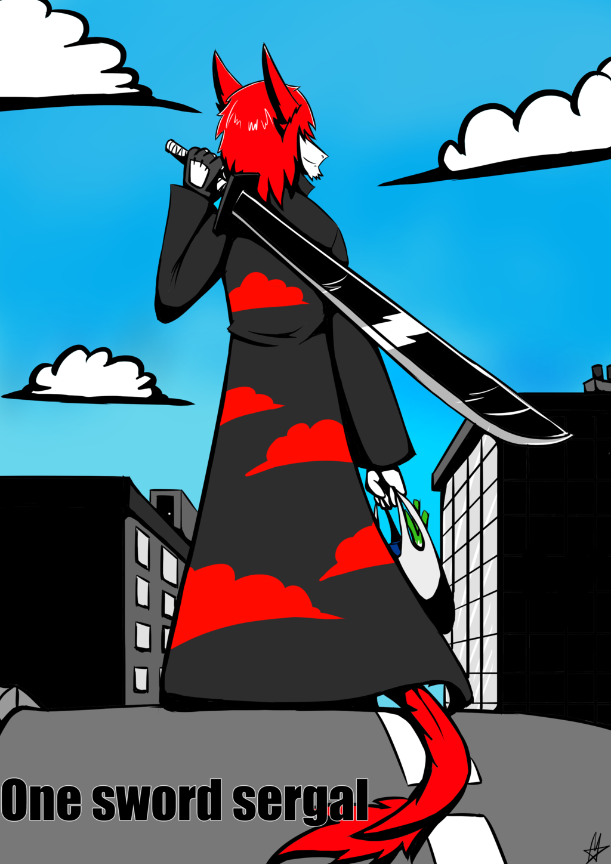 Zabu the one sword sergal