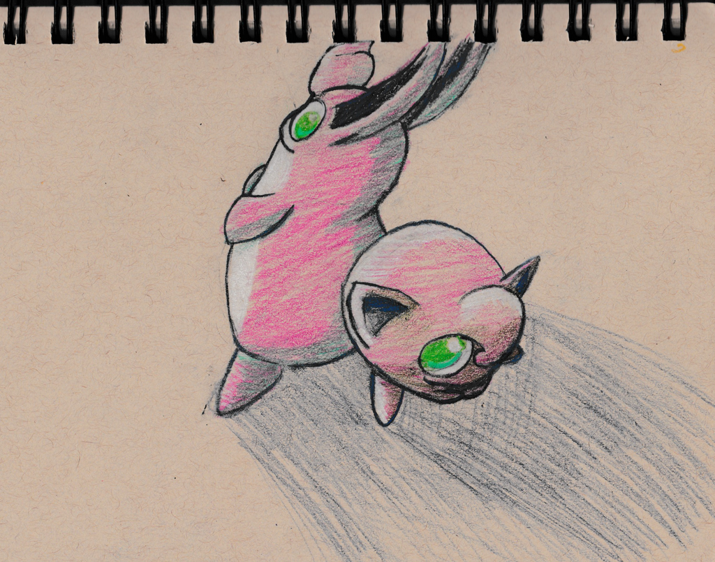 Jigglypuff and Wigglytuff