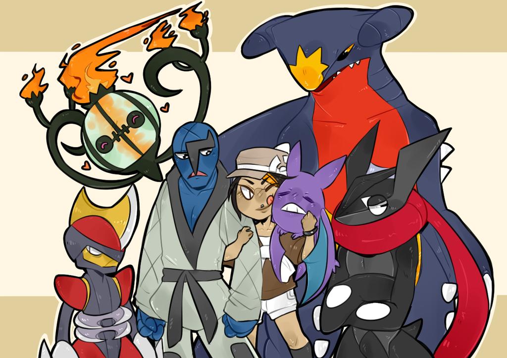 My Pokemon Y Team