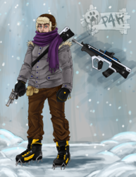 Winter adventurer (clothed ver.)