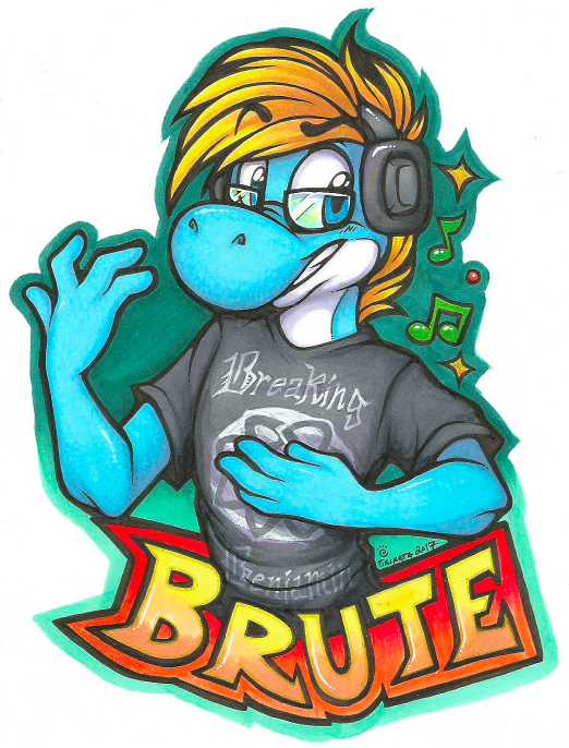 Brute Badge (Commission)