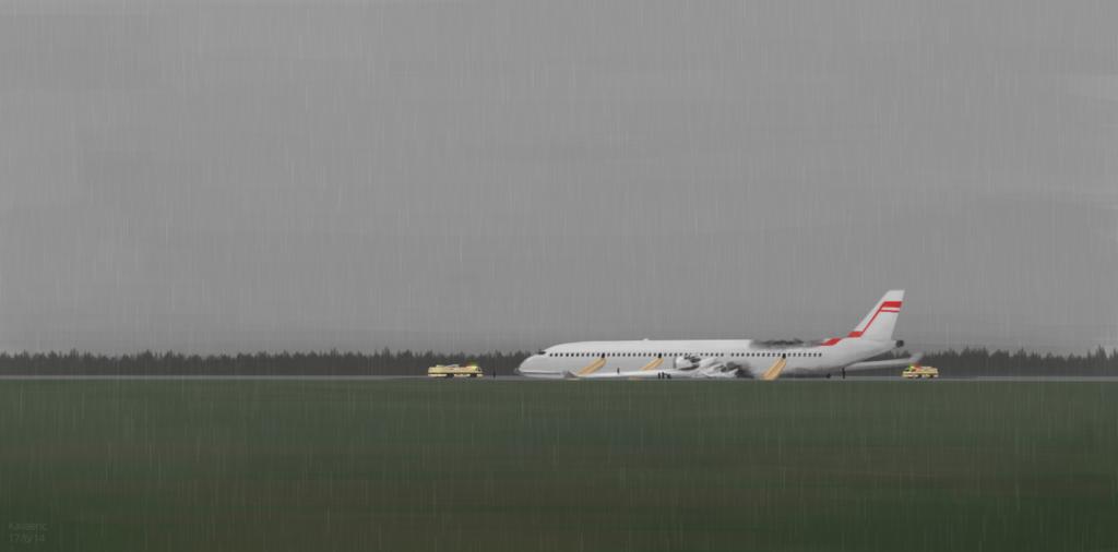Crash of the A600