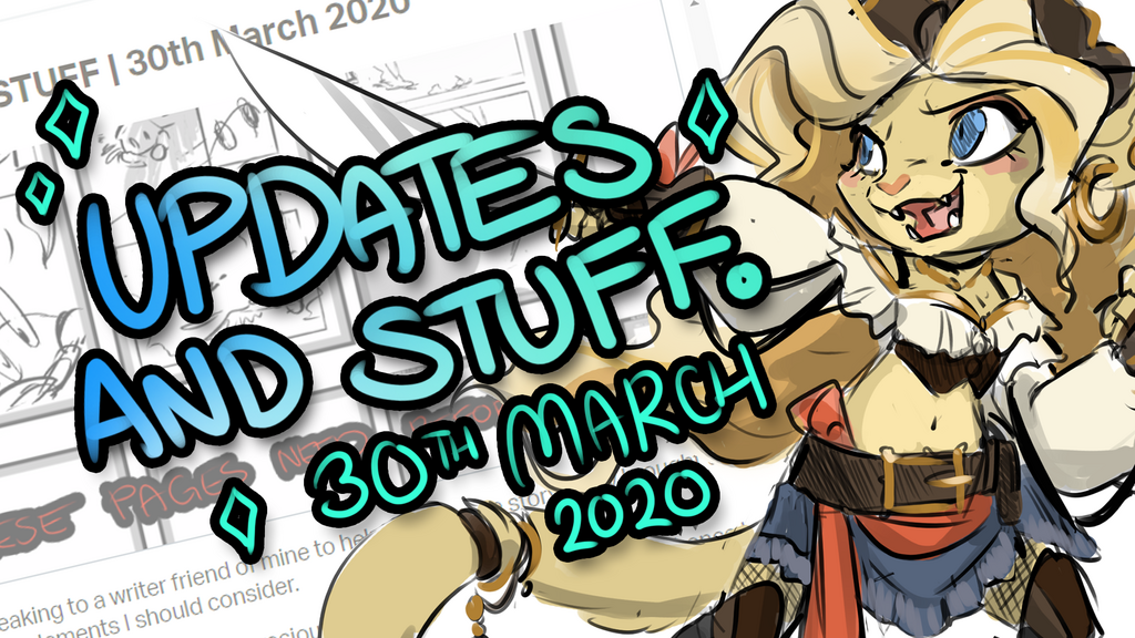 PATREON   Updates and Stuff 20th March 2020