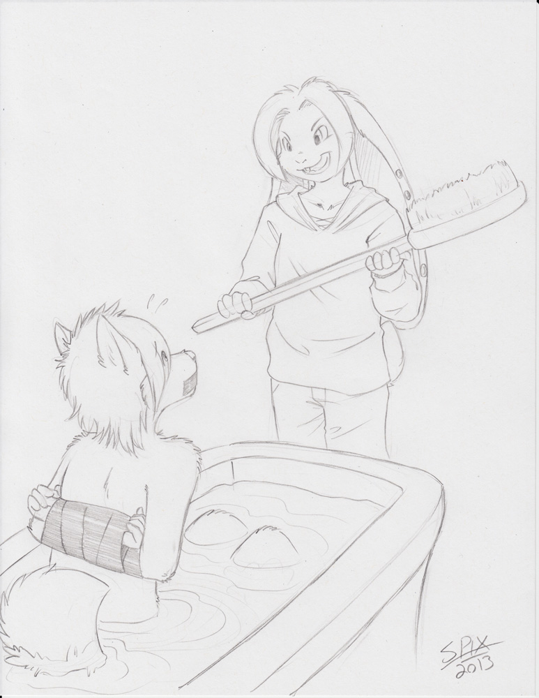 FurFright Sketch 01