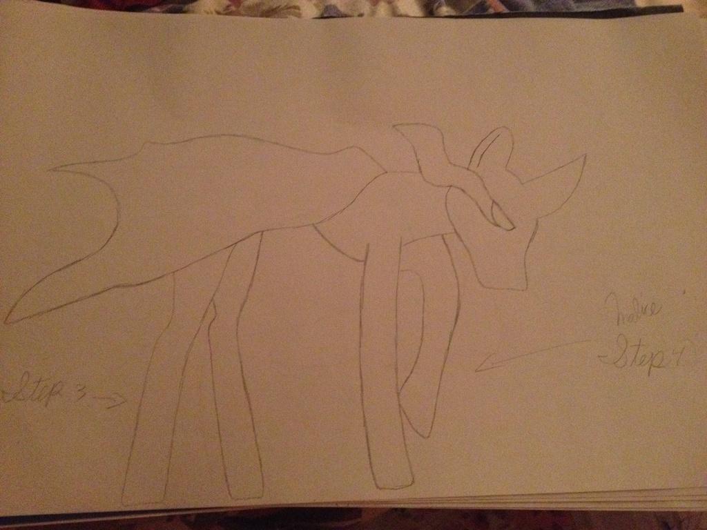Drawing Tutorial: Malice - Steps Three & Four