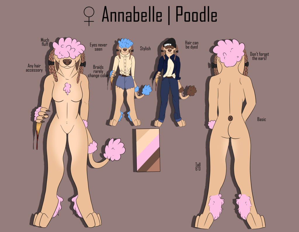 [P]Annabelle Reference Sheet