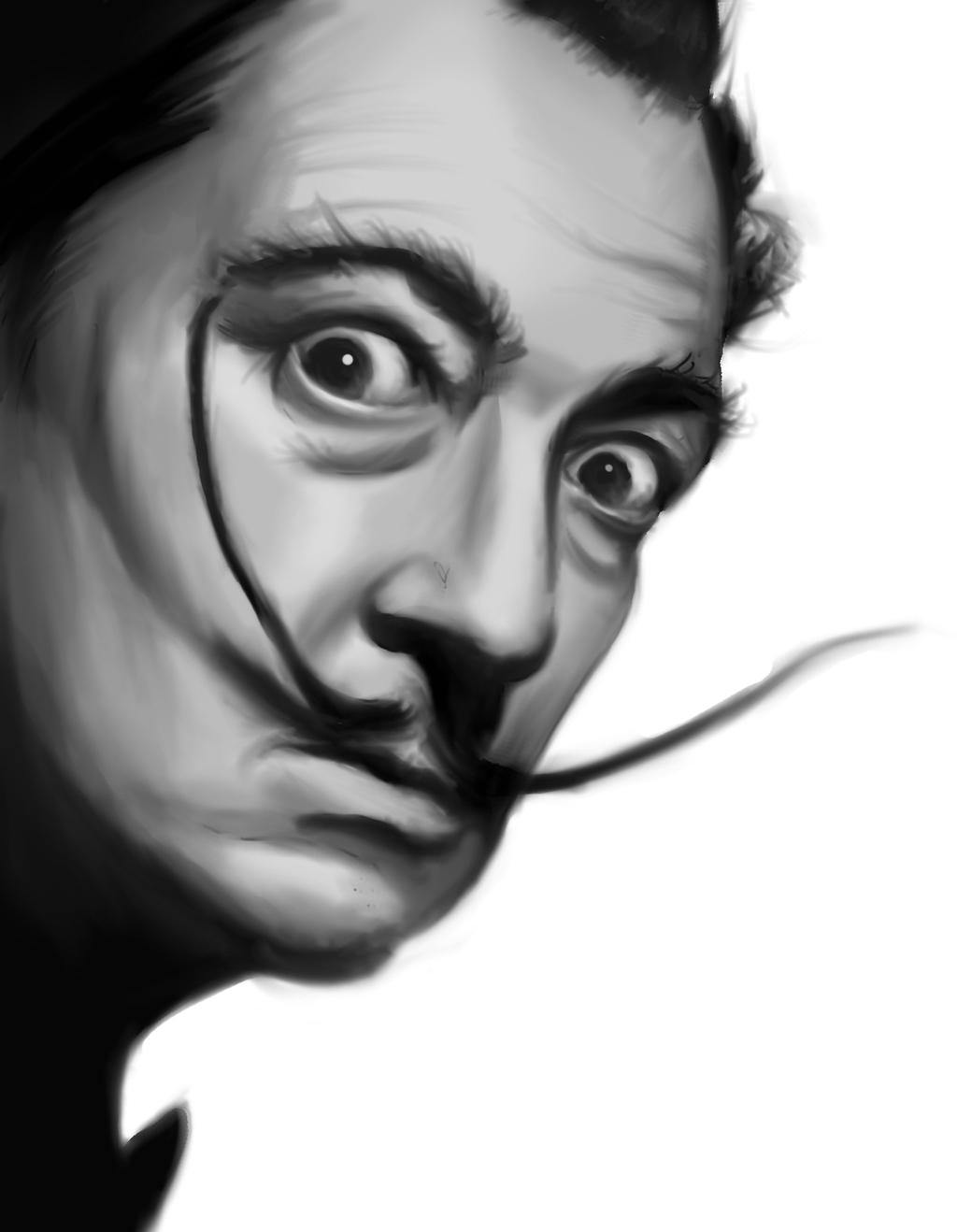 Salvador Dali Digital Painting