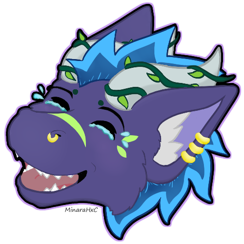 Most recent image: Laughing Indica Sticker
