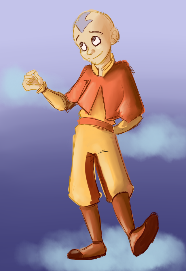 Actual Goober Avatar Aang