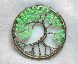 Early Green - Wire Tree