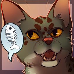 Portrait avatar commission for Cootie!