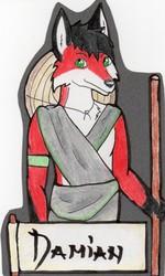 FWA Themed Badge for Damian Fox!
