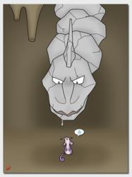 Fanart: Mouse vs Rock Snake