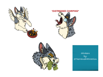 Bastion the Dutch Angel Dragon Stickers