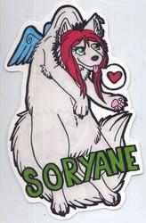 Scruff Badge - Soryane