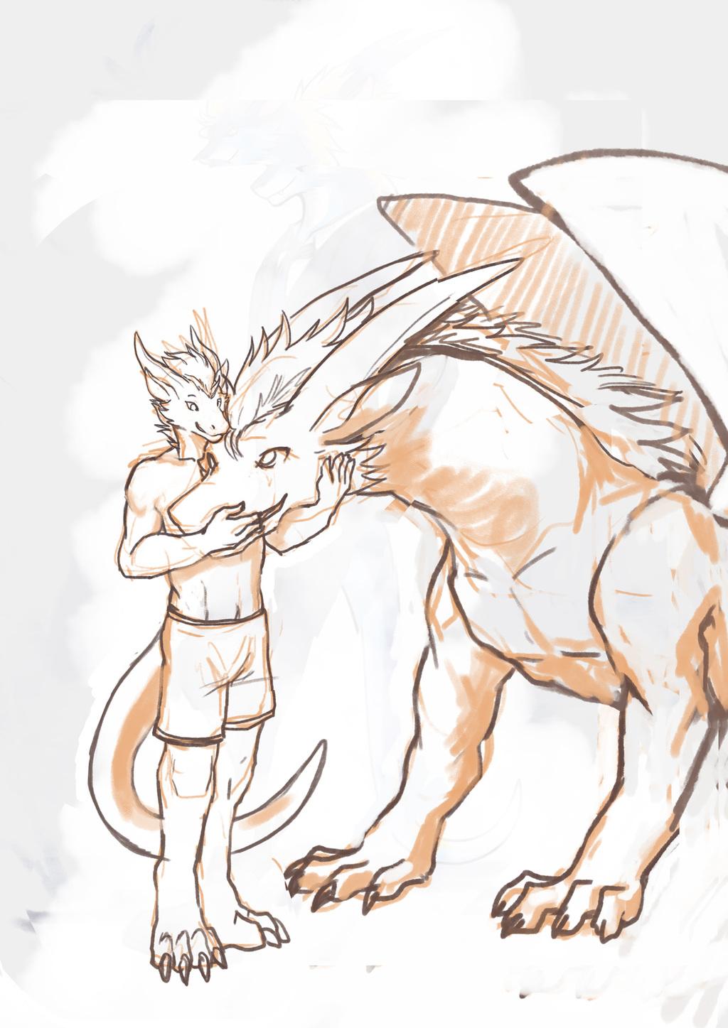 [ByoWT] Sketchbook Page 9 - Two Meet