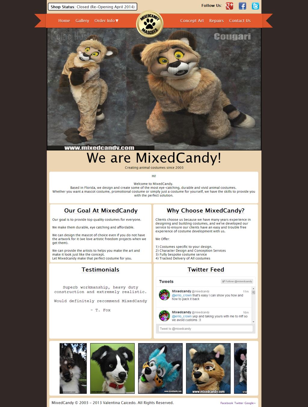 MixedCandy Web Design