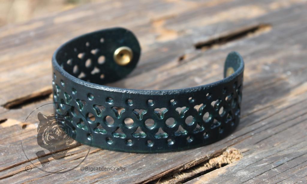 Deep Blue Filigree Bracelet