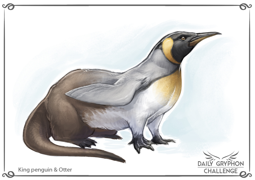 Most recent image: Daily Gryphon Challenge 23: King penguin & Otter