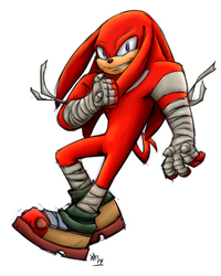 Coloring RrowdyBeast's Knuckles