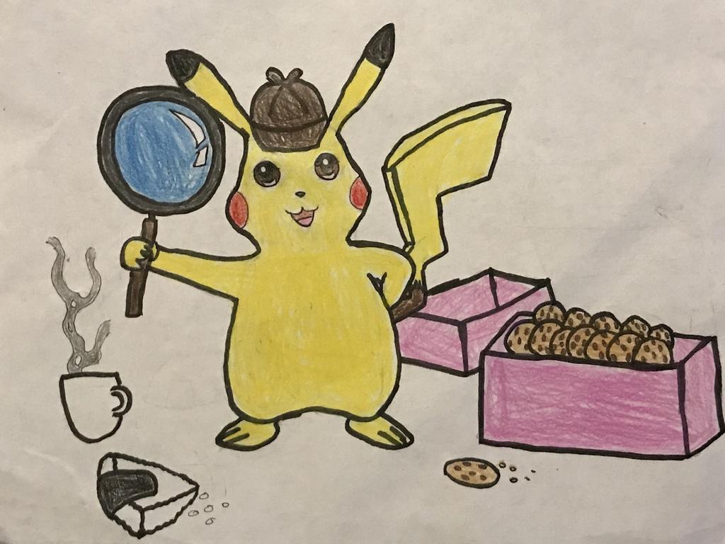 Most recent image: Detective Pikachu