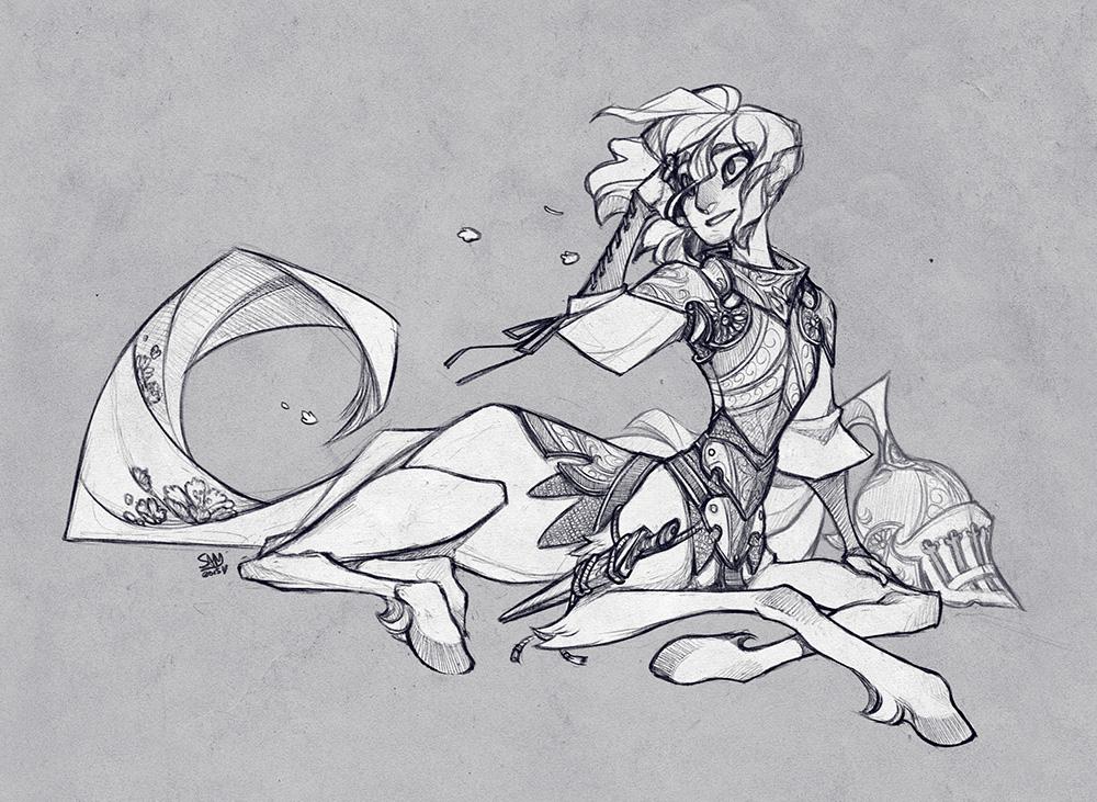 Clean Sketch Commission: kuriiiboh