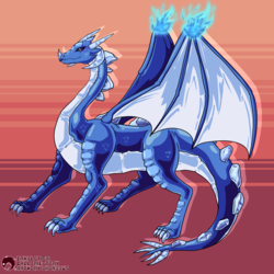 [CM] - Frost Dragon Character Design