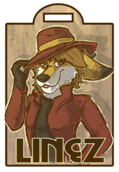 Linez Maltese Fur Con Badge