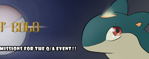 Q/A Event Banner for ToHG!