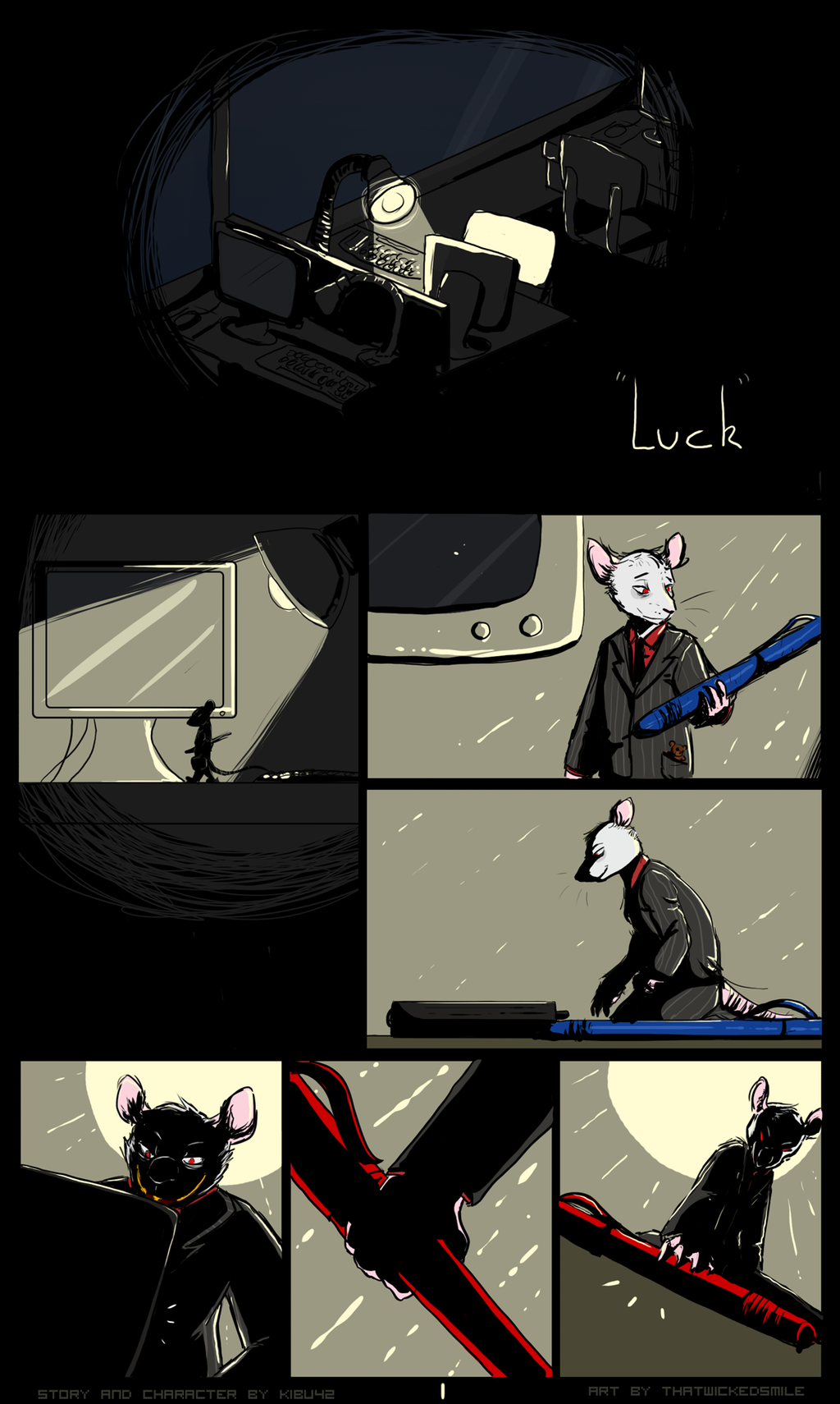 """Luck"" - Page 1"