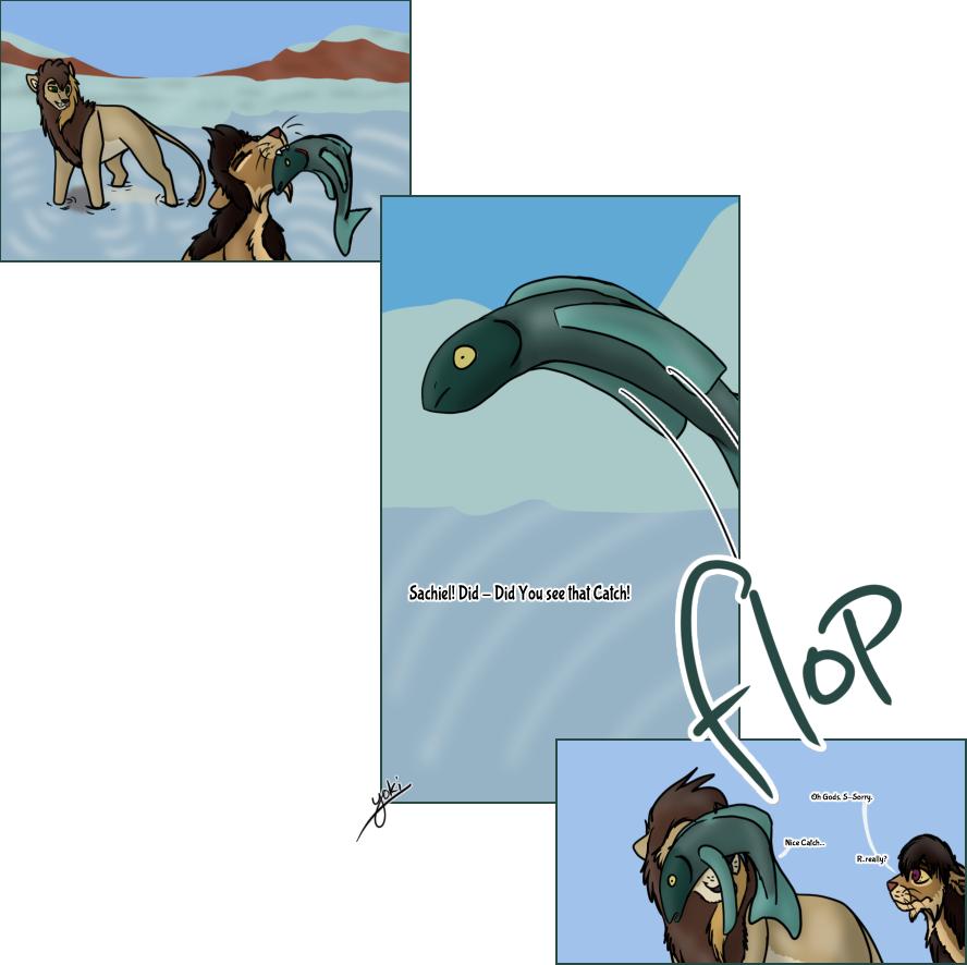 VI || Yekha's first fish