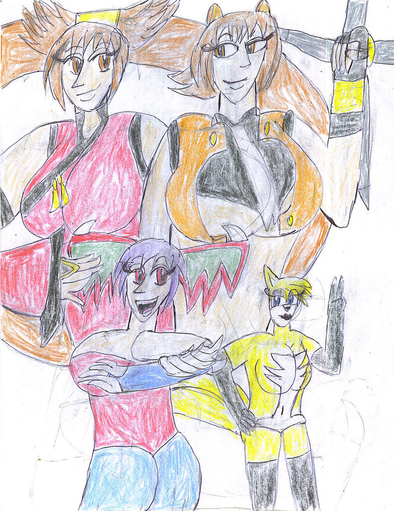 My favorite fighting gals