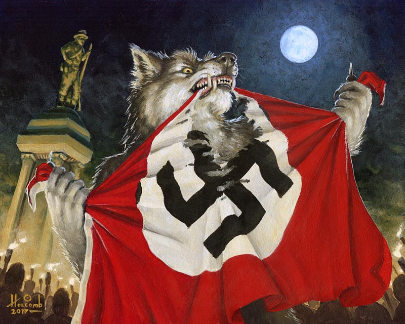 NO MORE!   (Werewolves Hate Nazi's)