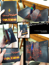 Volcano CD Case Winning entry