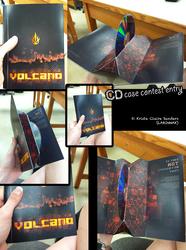 Volcano CD Case Winning entry