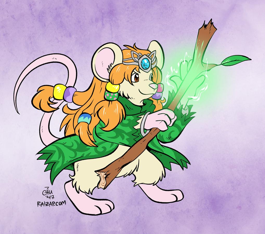 [Commission] Mouse Druid