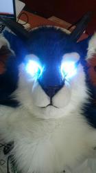 Mylunee's LED eyes