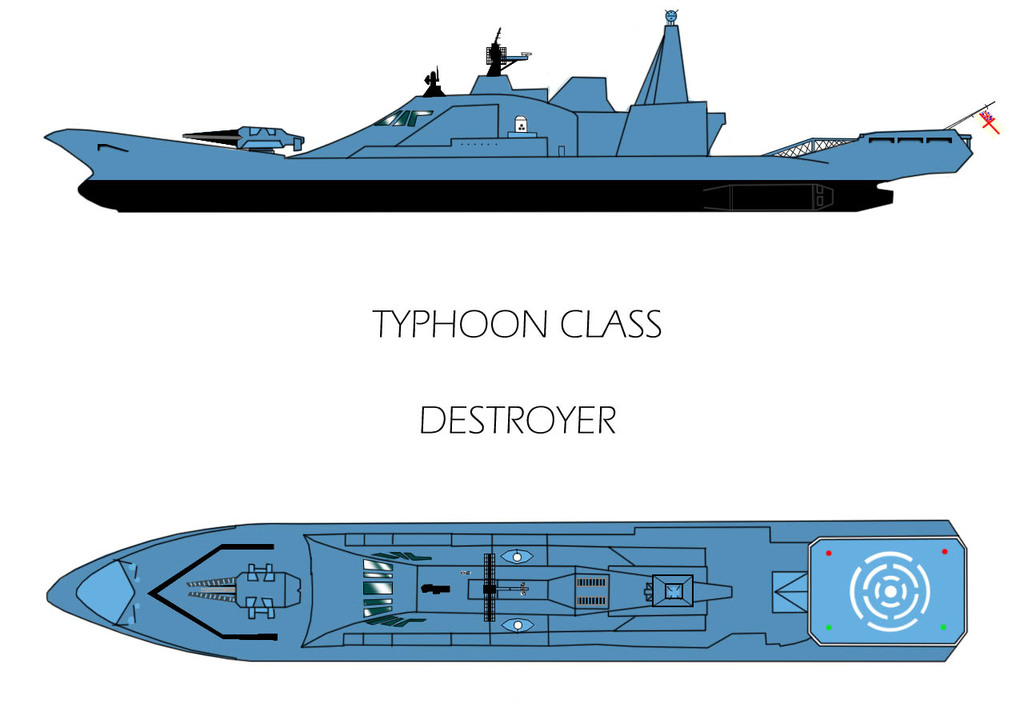 Typhoon Class Destroyer