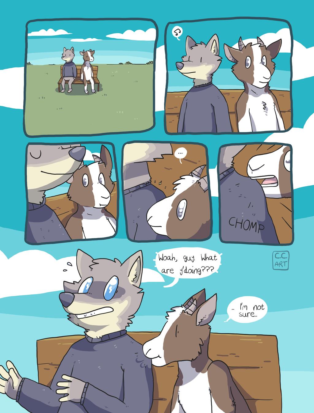 Goat Urges [comic]