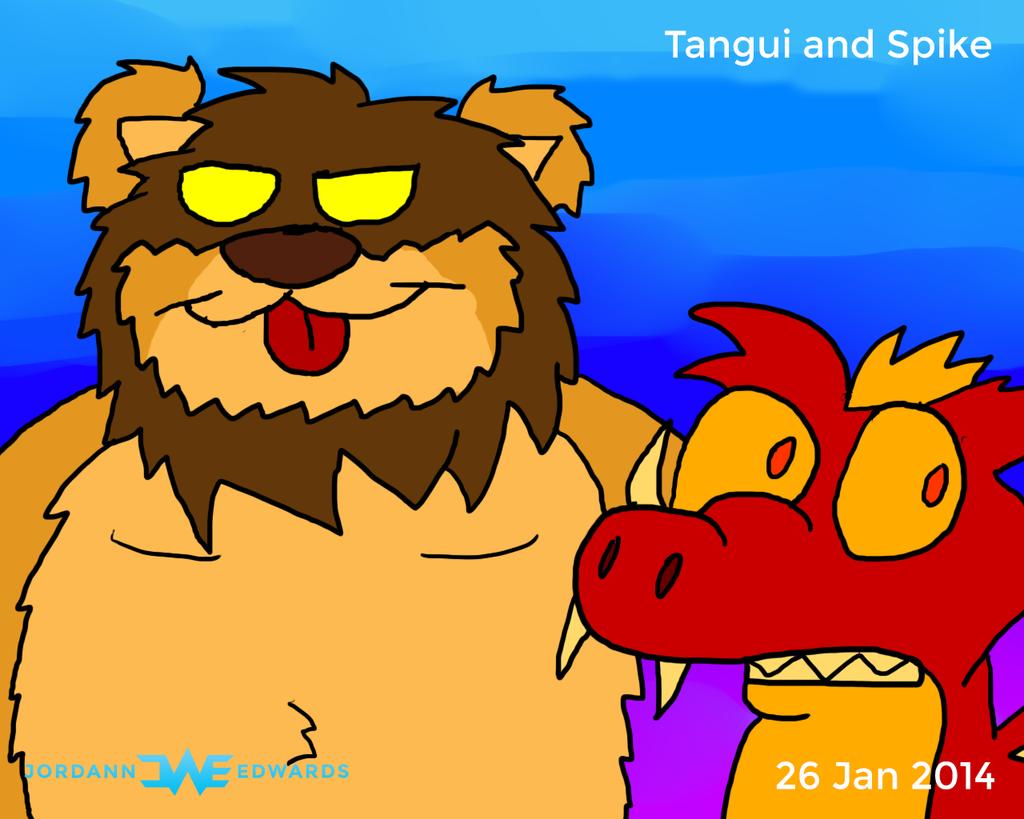 Tangui and Spike