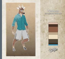 Nathan the Mule Deer by ScruffPuff