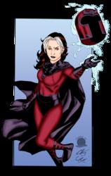 Rogue as Magneto